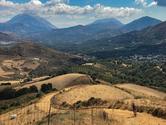 Crete Bikes: Heading South from Rethymno to Plakias