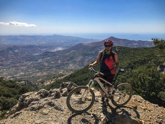 Crete Bikes: Rouvas Gorge