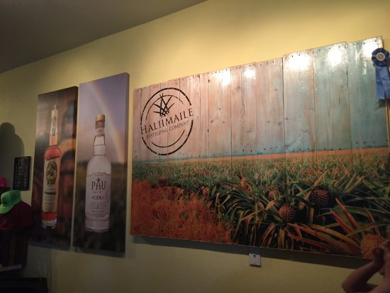Haliimaile Distilling Company: Varieties they sell