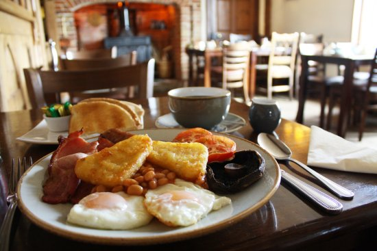 Tivetshall St. Mary, UK: Breakfast