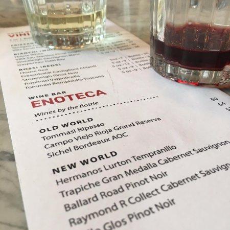 Piatto: Taste some wonderful wine