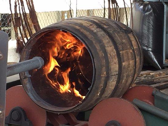San Pedro de Macoris, Dominican Republic: Quema de Barriles / Barrels Burning