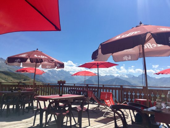 Champagny-en-Vanoise, Frankrijk: View from the terrace
