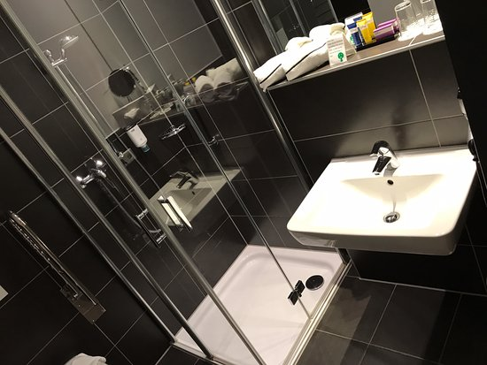 bathroom nice design all equiped picture of hotel jakob regensburg tripadvisor. Black Bedroom Furniture Sets. Home Design Ideas