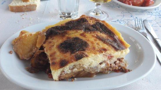 Lefkes, Greece: Original Moussaka