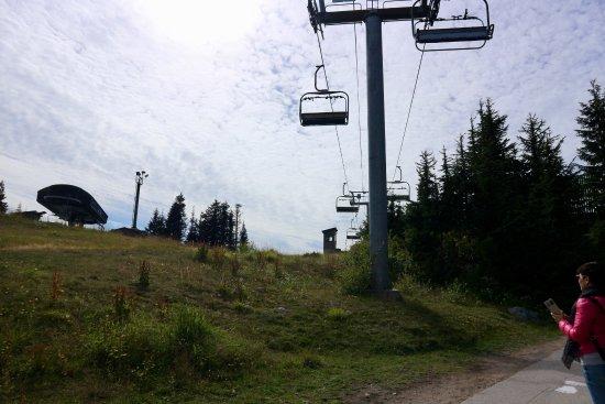 North Vancouver, Kanada: peak chairlift