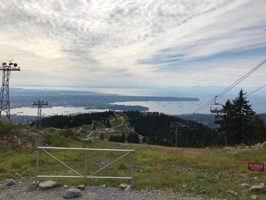 North Vancouver, Kanada: on the peak