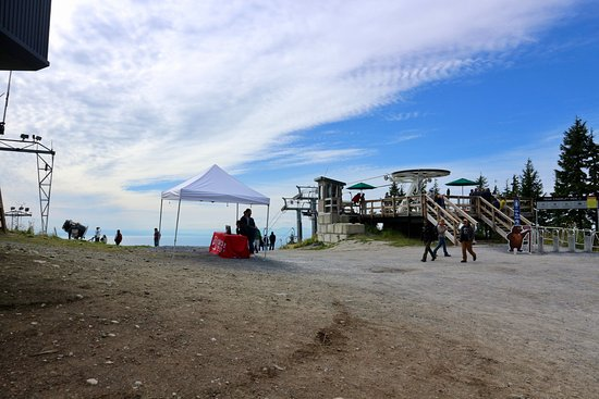 North Vancouver, Kanada: peak chairlift area