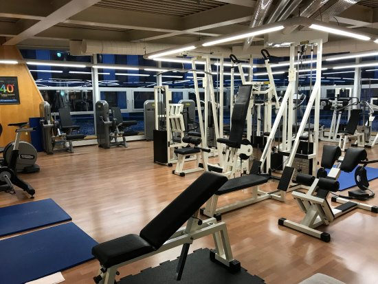 Mövenpick Hotel Lausanne: well equipped gym