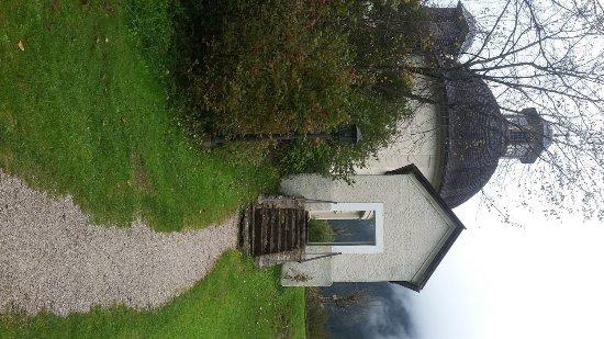Schwendau, Österreich: Burgschrofen-Kapelle von außen