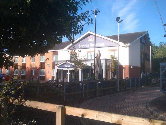 Pontypool, UK: Ample free parking. Welcoming aspect.