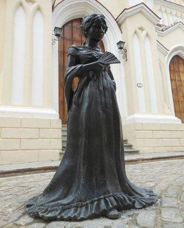 Escultura de Cecilia Valdes