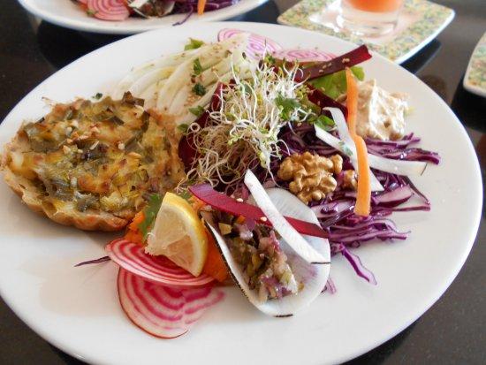 Draguignan, Frankrike: Assiette végétarienne