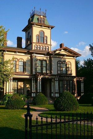 Mumford, Estado de Nueva York: Hamilton House, built 1870, Steuben County, Campbell, N.Y.
