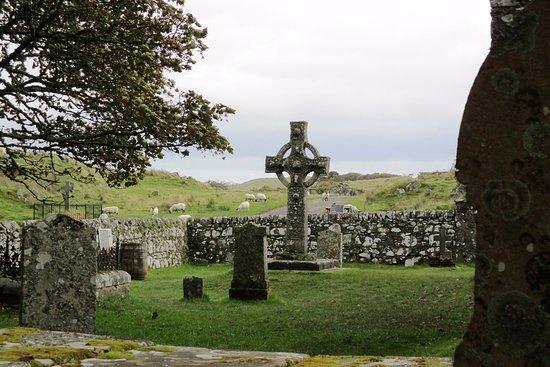 Port Ellen, UK: Vue d cimetière