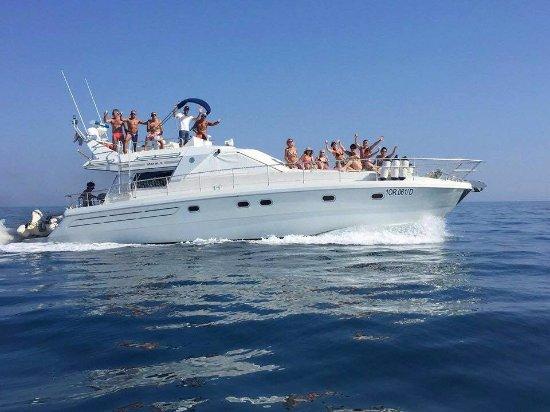 Abruzzo Skipper: momenti conviviali durante la traversata per le isole Tremiti