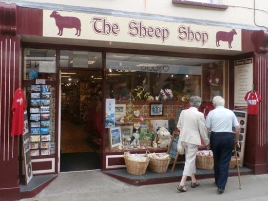 Haverfordwest, UK: Sheep Shop