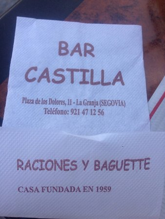 Bar Restaurante Castilla