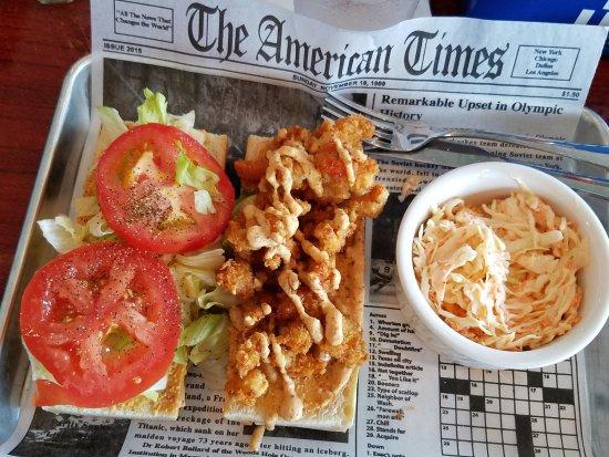 Pinellas Park, FL: Crawfish Po' Boy