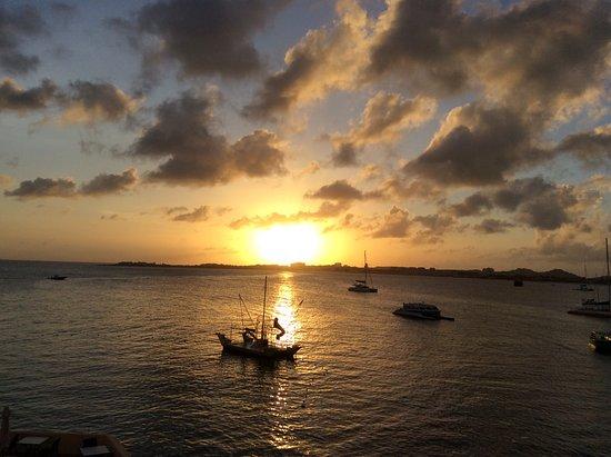 Κόλπος Simpson (Λιμνοθάλασσα), Άγιος Μαρτίνος: Simpson Bay sunset