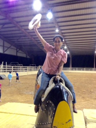 Ridem Cowgirl at the Mesquite Rodeo
