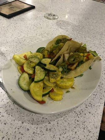 Kerbey Lane Cafe : Fish tacos with extra fresh veggies.