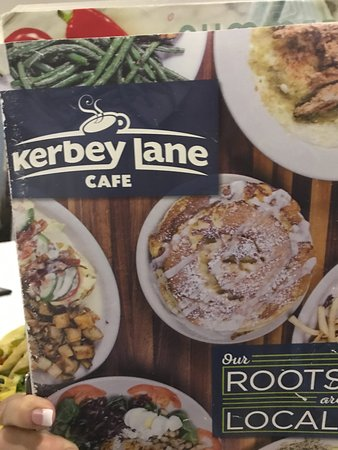 Kerbey Lane Cafe : I'm hungry looking at the front of the menu