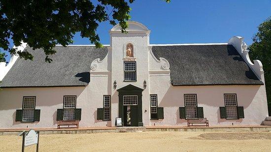 Constantia, Zuid-Afrika: big house
