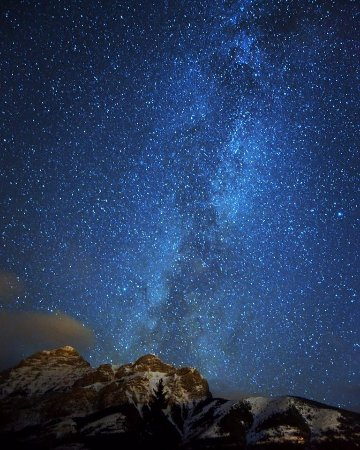 Kananaskis Country, Canada: Our Stargazing tours are a best seller for a reason, look at that sky!