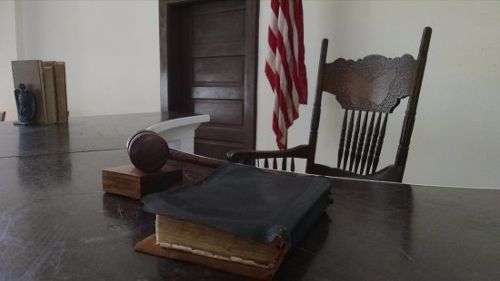 Monroeville, AL: Right before the judge's bench