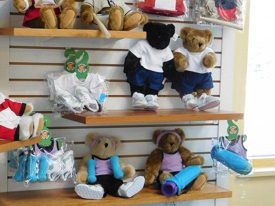 Vermont Teddy Bear Company: rayon sport pour nounours