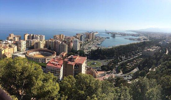 Barcelo Malaga: Gibralfaro view point