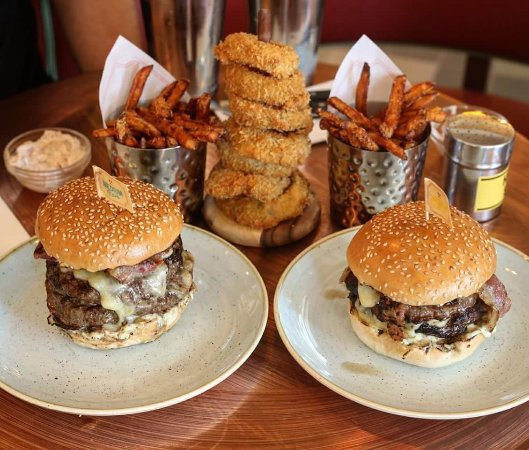 Burger Kitchen: Picture Of Gourmet Burger Kitchen