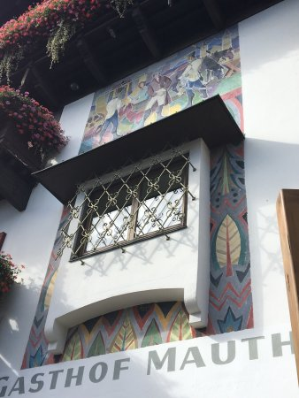 Gasthof Mauth: En terrasse