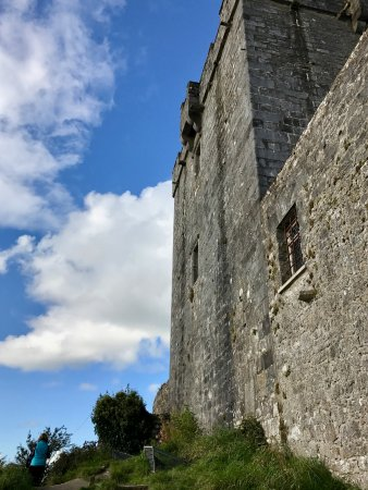 Kinvara, Irland: Dunguaire Castle exterior wall