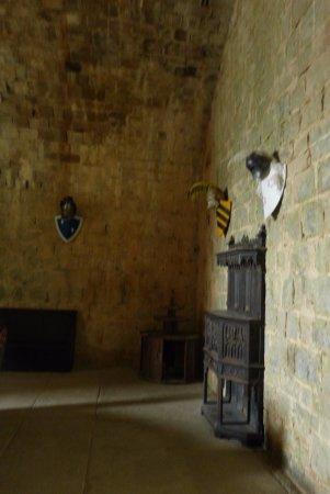 Puivert, Frankrike: Inside the main keep