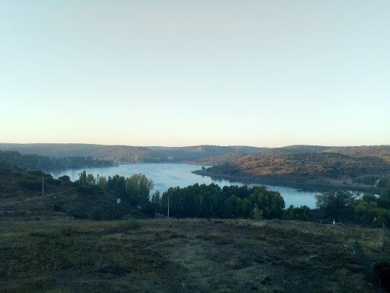 Doña Ruidera: Vista desde la terraza del ático