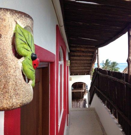 Ko'ox El Hotelito Beach Hotel : Pasillo