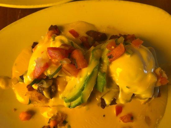 Kerbey Lane Cafe Central: Texas Eggs Benedict
