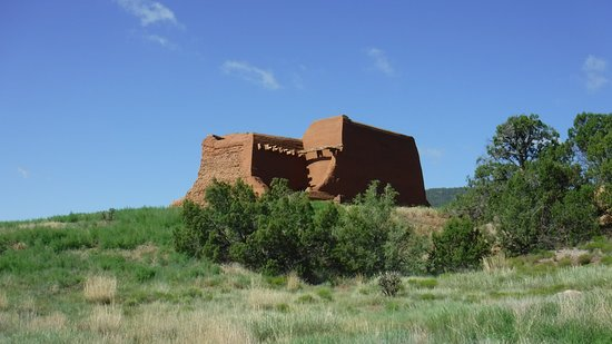 Pecos National Historical Park: back of the third church