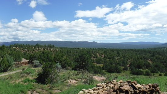 Pecos National Historical Park: view from defensive wall