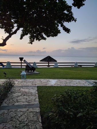 Sandals Halcyon Beach Resort: Views we're good.