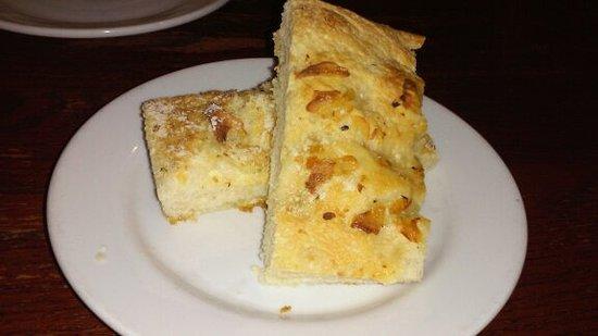 Orwigsburg, Pensilvania: Parmesan garlic bread
