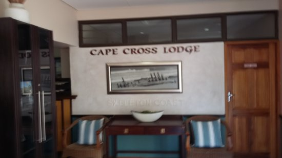Skeleton Coast Park, Namibia: Entrada al Lodge