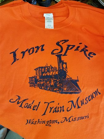 Washington, MO: Souvenir Shirts in sizes from Youth Small to Adult XXL