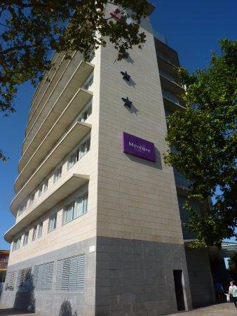 Mercure Atenea Aventura: Hôtel à notre arrivée