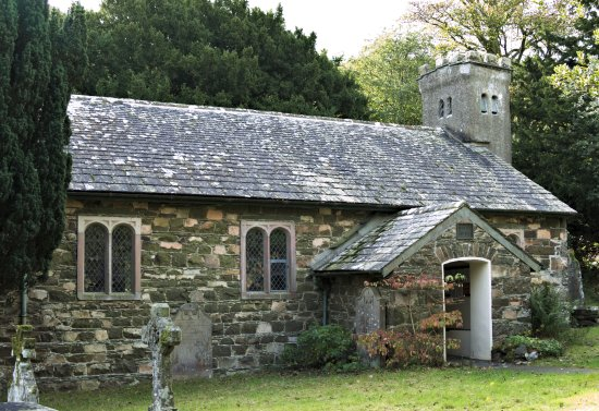 Threlkeld, UK: St John's in the Vale church