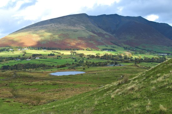 Threlkeld, UK: Tewit Tarn and Blencathra