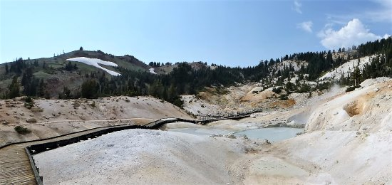 Mineral, Καλιφόρνια: Major hydrothermal Area: Reward at Trail End