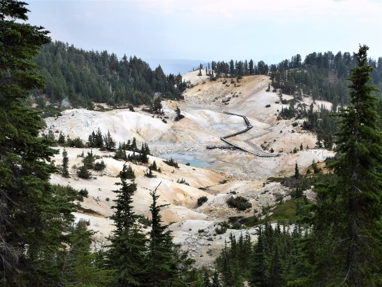 Mineral, كاليفورنيا: Major hydrothermal Area: Reward at Trail End